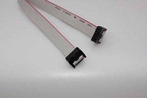 IDC Flachbandkabel Pfostenbuchsen 10-polig 1,0m für ISP Atmel AVR STM ARM JTAG Programmer
