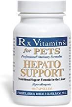 Rx Vitamins for Pets Hepato Support For Dogs & Cats - Veterinary Nutritional Formula for Liver Support - Hypoallergenic - 90 Capsules
