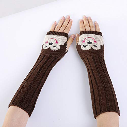 MKDASFD 2 Paar Mode Baumwolle Damen Winter Handschuhe Einfarbig Erwachsene Handschuh Und Handschuhe#4