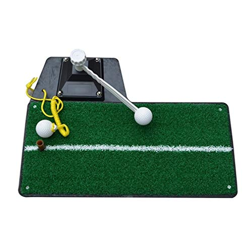 Why Should You Buy NDY Golf Practice Mat, Putting Mats, 360 ° Rotating Stick, Tether Ball, 47 23 1c...