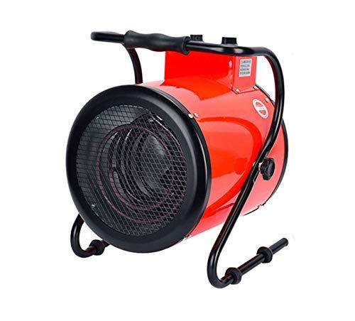 HKPLDE 5000W Calentador Asa De Transporte Integrada Calefactor Terraza Ideal para Garajes Y Grandes Espacios Interiores-5000W