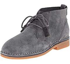 Hush Puppies Cyra Catelyn Chukka Desert Ankle Boots Suede Women/'s Sz 8.5 W Black