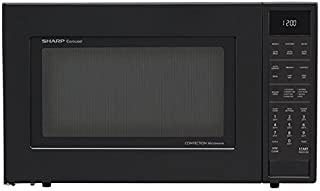 Sharp SMC1585BB 1.5 cu. ft. Microwave Oven with Convection Cooking, in Black
