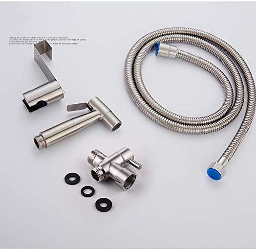 YUXIwang Kit de Spray de bidé Baño Multifuncional portátil Spray - Aseo Aseo Companion Accesorios for lavadoras Asiento del Inodoro Pistola de pulverización con Cuarto de baño Determinado Flush