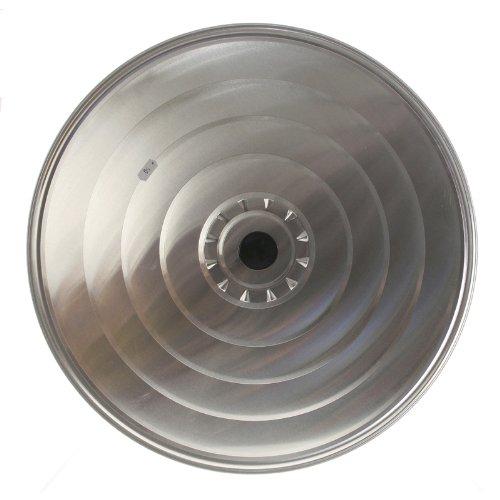 Aluminiumdeckel mit Knopf 50cm