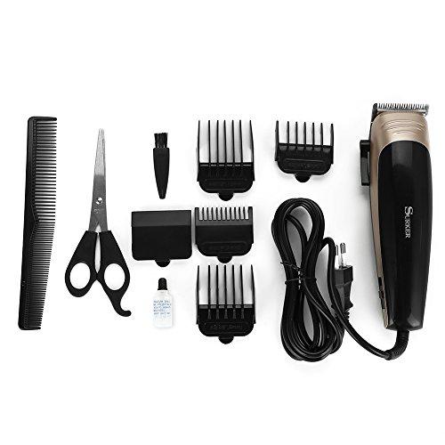 Maquina de Cortar el Pelo, 10 en 1 Cortapelos Recortadora de Barba Electrico Precisión, Multifuncional Set de Máquina Afeitadora para Barba Cabello Corte de cabello para Hombres