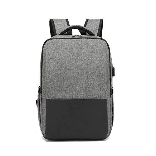 HUI JIN Mochila portátil con puerto de carga USB, regalo de la escuela de negocios