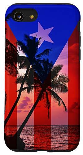 iPhone SE (2020) / 7 / 8 Tropical Ocean Vibes Puerto Rico Flag - Puerto Rican Pride Case
