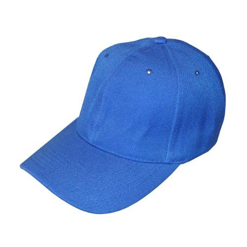 True Heads Bleu Royal Uni réglable Casquette de Baseball X 10