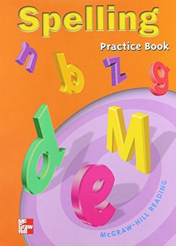 Spelling Practice Book: Grade 5 (Mcgraw-Hill Reading)