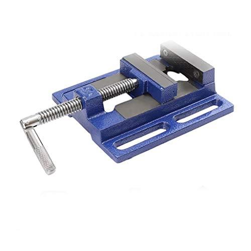 NSHDR 60 mm aluminio banco tornillo mesa plana abrazadera en alicates prensa fresadora abrazadera firmemente carpintería para bricolaje joyería artesanía modelado reparación herramientas manuales