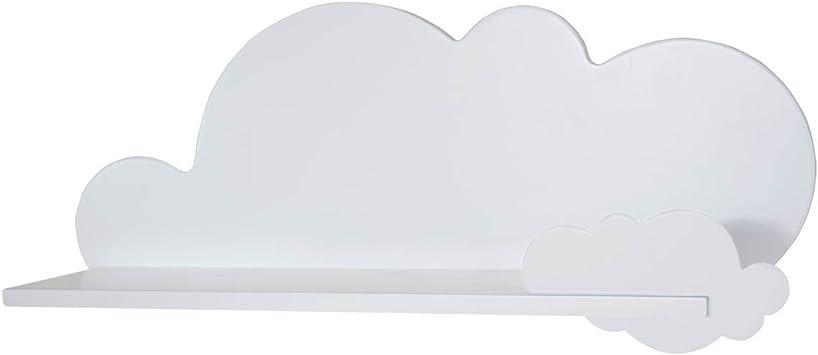 Estantería Infantil Nube (Nube, Blanco)
