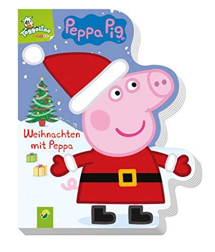 Weihnachten mit Peppa: Ein Bilderbuch rund um Peppa Pigs Weihnachtsfest