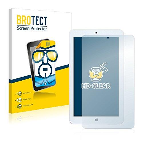 BROTECT Schutzfolie kompatibel mit Mediacom WinPad 7.0 W700 (2 Stück) klare Bildschirmschutz-Folie