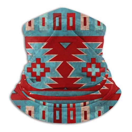 Trista Bauer Pasamontañas Red Santa Southwest Mesas Western Comfortable Balaclava Hood