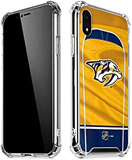 Skinit Clear Phone Case for iPhone XR - Officially Licensed NHL Nashville Predators Jersey Design