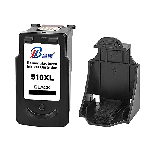 HLDC Reemplazo de Cartucho de Tinta Compatible para PG-510 CL-511 Alto Rendimiento Adecuado para Canon MP240 MP495 MX340 Impresora,Negro