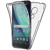 SDTEK Case for Motorola Moto G6 Play Full Body Front and