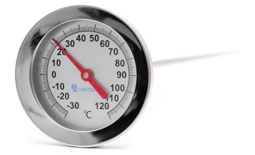 Lantelme Rookthermometer Rookoven 50 cm Rookoven Räucher Thermometer Accessoires Räucher 120° C 7745