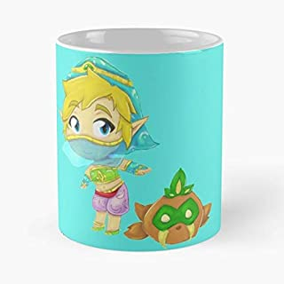 Gerudo Link Breath Of The Wild Botw Gift Coffee/tea Ceramic Mug 11 Oz