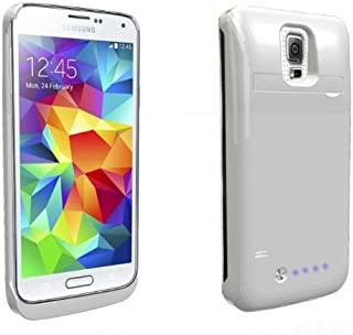 quality design d065f f21c6 Amazon.com: Samsung Galaxy S 5 - Battery Charger Cases / Cases ...
