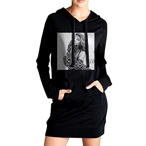 Shania Twain Now Sudadera con Capucha para Mujer con Bolsillos Laterales con Capucha Sudadera con Capucha Larga Casual de Moda S