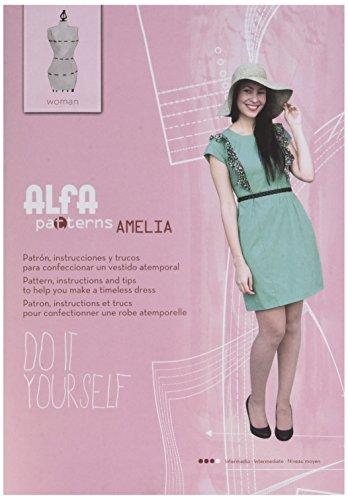 Alfa Patron de Couture avec Instructions Robe