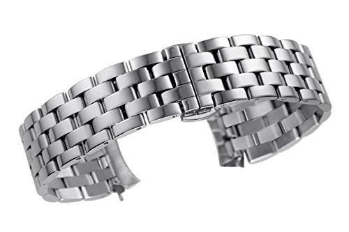 20 millimetri superiore solida 5-link sostituzione del cinturino di...