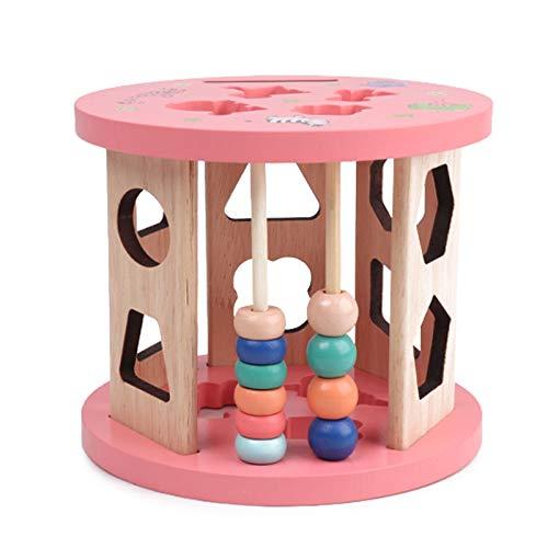 Heizung Carga de diversión Forma coincidente gráficos cognitivos Edificio Bloque de Bloques bebé Infantil Educación temprana Educativa Intelectual Brain Toy Ayuda con Las Habilidades de Desarrollo.