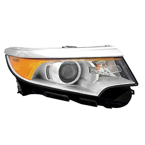 FO2503291 Headlight Assembly Passenger Side for Ford Edge 2011- 2014