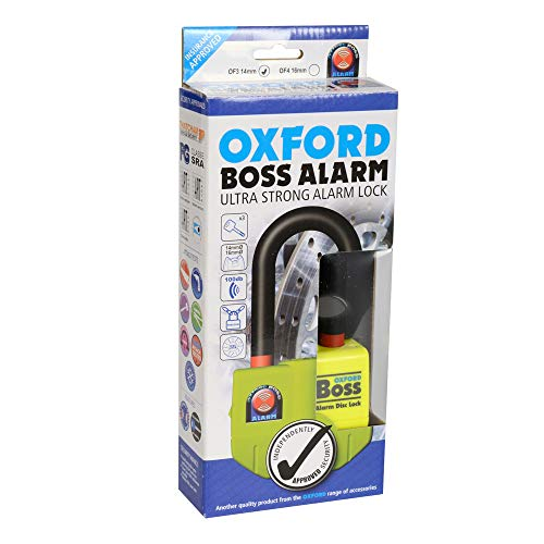 OXFORD BOSS ALARM DISC Ultra Strong Disc Lock, 14mm