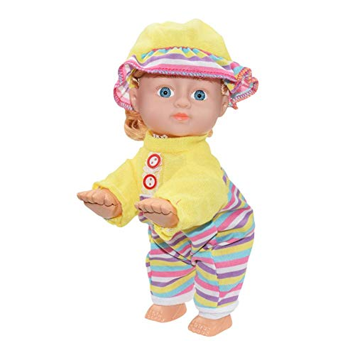 BAYUE Electric Doll, Funny Electric Sound and Light Twisting Intelligent Doll Laughing Crying Singing Crawling Baby Doll Toy is The Best Gift for Children