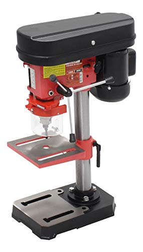 Mader Power Tools 63151 Taladro de Columna 350W 13mm, Velocidad Variable, precisión de furo