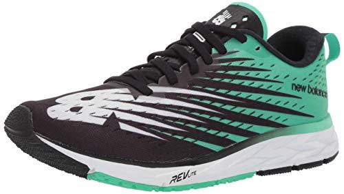 New Balance M1500V5, Zapatillas de Running para Hombre, Negro (Black/Green Black/Green), 40.5 EU