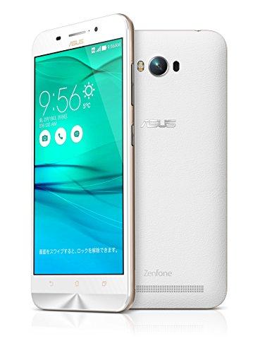 {【国内正規品】ASUSTek ZenFone Max (SIMフリー/Android5.0.2 /5.5inch /デュアルmicroSIM /LTE)(2GB/16GB) (ホワイト) ZC550KL-WH16}