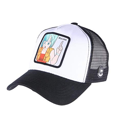 La casquette Dragon Ball Z avec dessin de Bulma