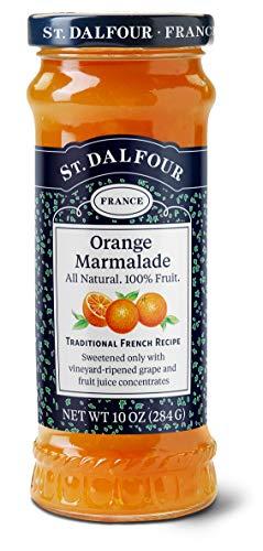 St. Dalfour Orange Marmalade Fruit Spread, 10 Ounce