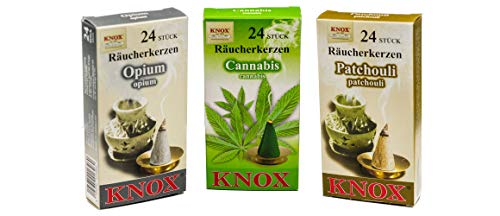 KNOX 3er Räucherkerzen Set