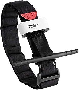 Feloyal Tourniquet Accessoires de garrot tactique Kit d'urgence pour la chasse et la randonnée, pour les urgences graves en plein air et la randonnée de contrôle des pertes de sang