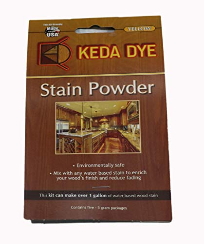 Yellow Dye by Keda Dye Sunflower Yellow Wood Dye Powder 25 Grams Makes 1 Gallon Yellow Stain Color