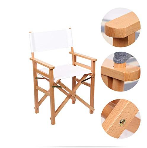 WYJW Vouwen executive houten stoel Ruimtebesparende linnen stoel, bar kruk rugleuning Multi-gekleurde bureaustoel Optioneel (kleur: A) B