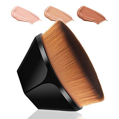 Pinceau fond de teint Pinceau De Maquillage De Base En Forme De Pétale, Brosse à Poils Doux Adaptée Aux Cosmétiques Liquides Ou En Poudre Mélangés à La Crème