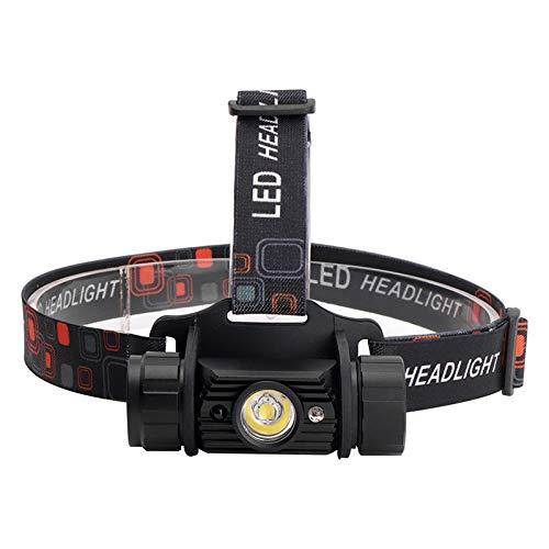 LED Stirnlampe 10000 Lumen 5 W Mini IR Sensor Scheinwerfer Induktion USB Wiederaufladbare Laterne Stirnlampe 1-Mode Taschenlampe Stirnlampe