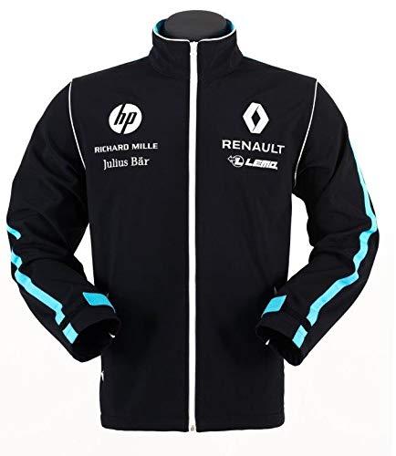 Renault e.dams Formel E Sponsor Buemi Prost Herren Softshelljacke, Herren, schwarz, X-Small
