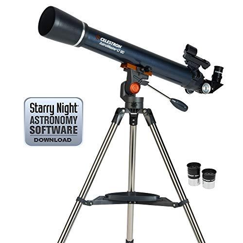 Celestron 21061 AstroMaster 70 AZ refractor telescoop, Astromaster LT 60 AZ Refractor, zwart