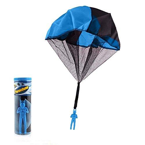 DEWIN Outdoor Spielzeug Ball Spiel - Hand werfen Drop Mini Fallschirm fliegen Ball Flugzeug Kid Spielzeug Outdoor-Sport-Spiel (1st)
