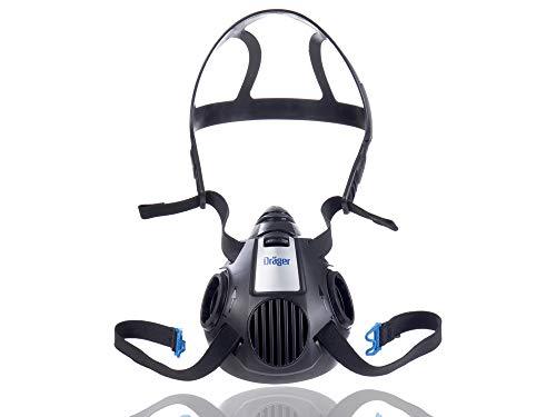 Dräger X-plore 3500 Halbmaske | Gr. L | Mehrweg Atemschutz-Maske für den Einsatz mit wechselbaren Bajonettfiltern
