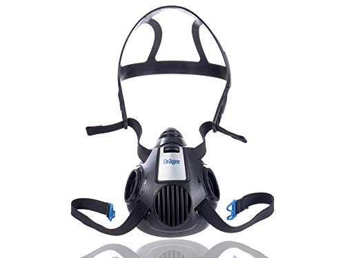 Dräger X-plore 3500Large Semimáscara sin filtro, Azul, L