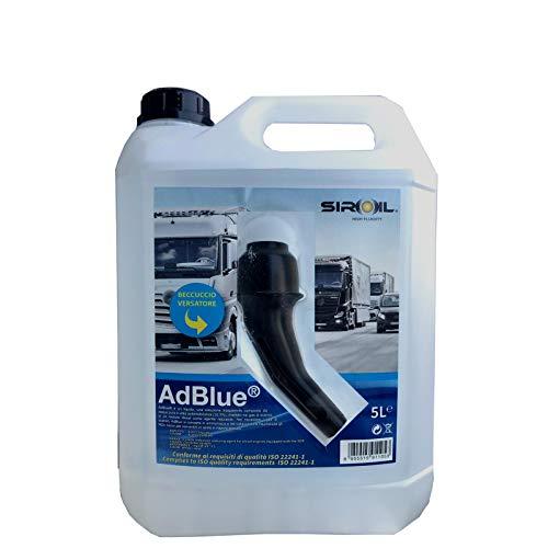 AD BLUE ADBLUE Additivo Urea per motori Diesel Euro 4 5 6 SCR riduzione emissioni 5 Lt