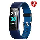 HolySpirit Fitness Armband mit Pulsmesser Wasserdicht IP67 Fitness Tracker Smartwatch